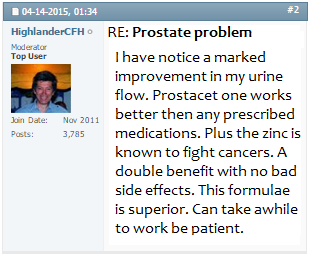 Prostacet Shocking Reviews 2020 Does It Really Work